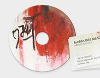 CD + CARD artista plástica