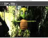 Processo de Render Personagem 3D