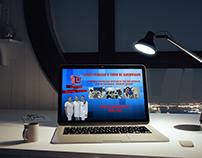 Folder promocional curso de Enfermagem