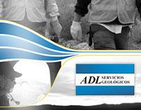 Brochure ADL Servicios Geológicos.