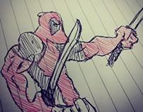 Desenhos e Sketchs