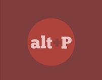 Posters Minimalistas - Alt+P