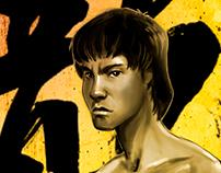 Bruce Lee Cartoon