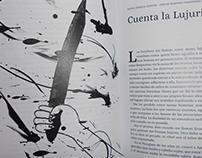 Ilustraciones realizadas para Revista Y libros impresos