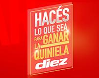 Quiniela Diez - Animation Tv Spot