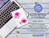 seminario de pattern en photoshop para principiantes