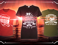 German Stand Up Paddling T-shirts Designs