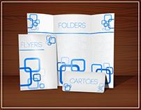 Folders, Flyers e Catálogos