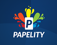 Logo Papelity - Papelaria