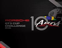 Porsche GT3 CUP Challenge Brasil -10 anos