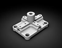 Diseño, Modelado 3D y Render - Piezas Pararrayos