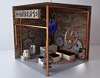 Diseño para una tienda converse