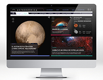 "WebSite - ""Astronómica"""