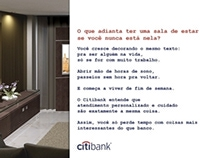 Anúncio Citibank