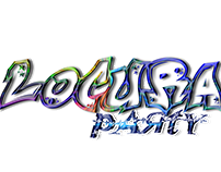 Logotipo Locura Party