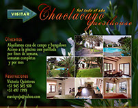 2010 - Chaclacayo Guesthouse Landing Page