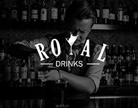 Royal Drinks- Logo