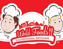 World Foods Restaurant - Logo Building
