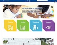Front-end - Portal de Acceso a Datos Educativos