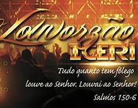 Flyer/Banner/Panfleto - Louvorzão ICERI