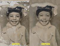 RESTAURAÇÃO DE FOTOS ADOBE PHOTOSHOP