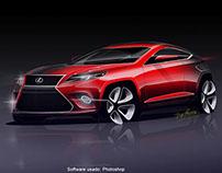 Render Lexus