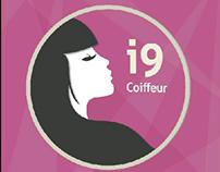 Logo tipo - I9 coiffeur