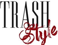 Criação - Modelo para Blog de Moda - TrashStyle