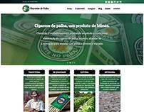 Website Charutim de Palha - Cigarros de Palha Artesanal