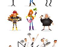 Personajes | Diseño