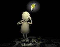 sombra pensante