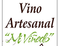 Etiqueta Vino Artesanal