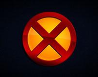"X-Men ""Flat Design"""