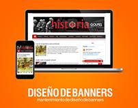 Diseño de banners (El Desafío de la Historia)