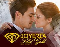 Joyería Solid Gold / Web / identidad / Comunicación.