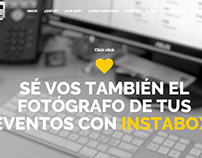Instabox Landing Page