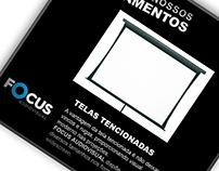 Conteúdo Redes Sociais Focus Áudio Visual