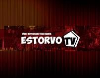 Projeto de capa para o canal Estorvo Tv