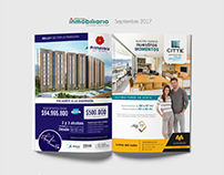 Diseño páginas de revistas: Inf. inmobiliario Coomeva