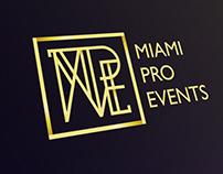 Miami Pro Events - Brand Identity
