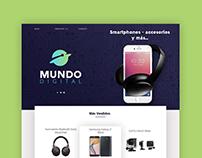 Branding - Landing page Mundo Digital