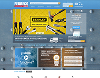 Ferreco Website. Online Shop.