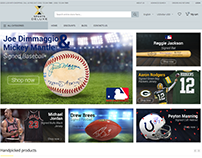 SPORTS DELUXE Web Page Banners and Products