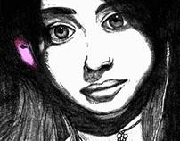 Ilustrações/desenhos a mão/pinturas digitais/aquarela