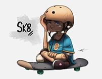 Sk8 - Character Design