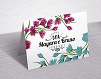Convite Mayara e Bruno