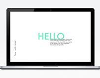 Portfolio Web Concept