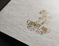 """Logo design for """"Rowdy Ann"""" Boutique."""