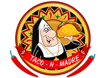 logotipo negocio de tacos Mexico