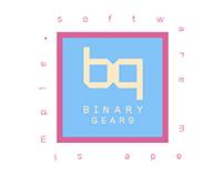 Binary gears logo